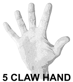 5 Claw Hand