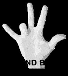 5 Hand Bent Ringfinger